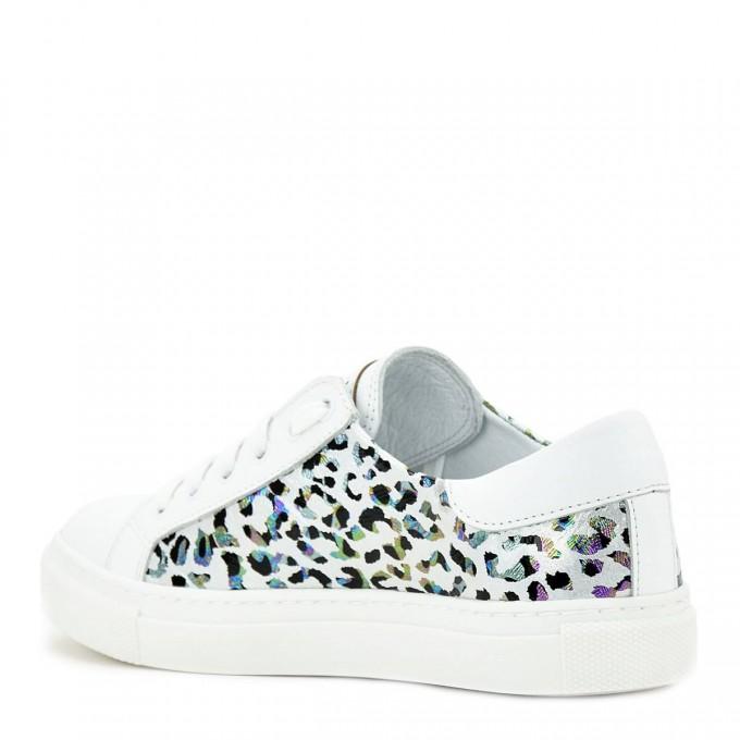 Дамски кецове Kami white leopard