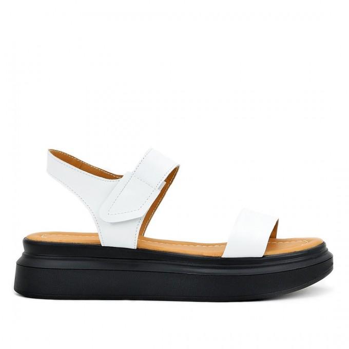 Дамски сандали Mila white